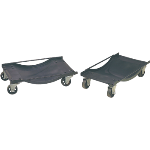 heavy-duty steel rolling auto dollies Ranger  RCD-1TD