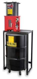 crusher station by Ranger Oil filter