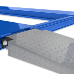 Aluminum car lift ramps Low-profile