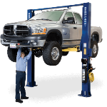 The BendPak XPR-10A offers exceptional direct-drive lifting performance.