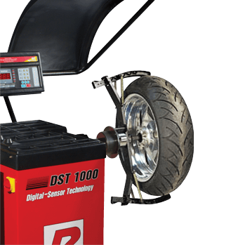 motorcycle tire balancing machine