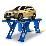 Vertical scissor lift