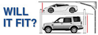 Will your four-post car lift fit?