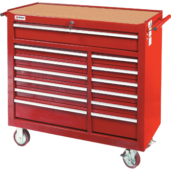 Super wide Ranger RTB-13DC rolling tool cabinet