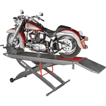 pneumatic motorcycle lift -Motorcycle Lift Ranger RML-600XL